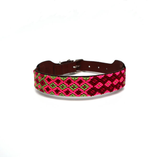 Hondenhalsband roze