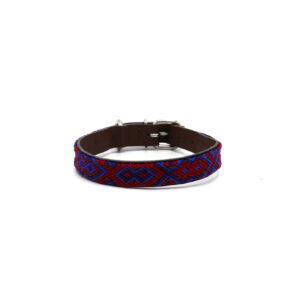 Halsband XXS donkerblauw