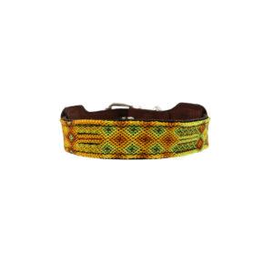 Hondenhalsband geel S