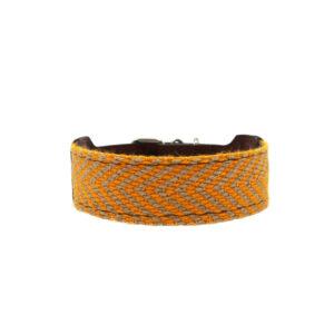 Hondenhalsband geel