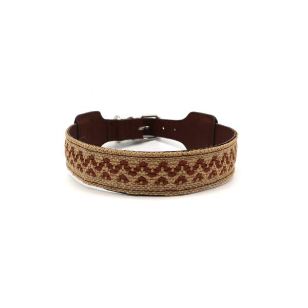 Hondenhalsband bruin