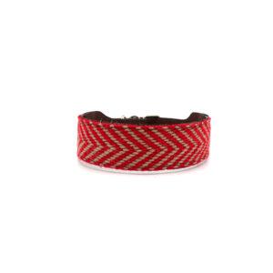 Rode hondenhalsband