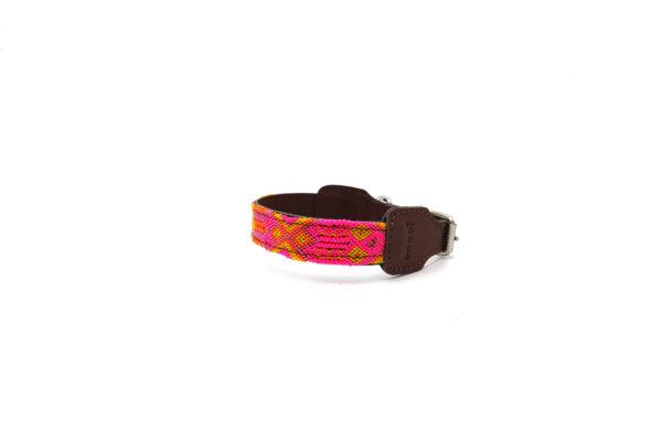 Lichtroze hondenhalsband