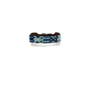 Lichtblauwe hondenhalsband