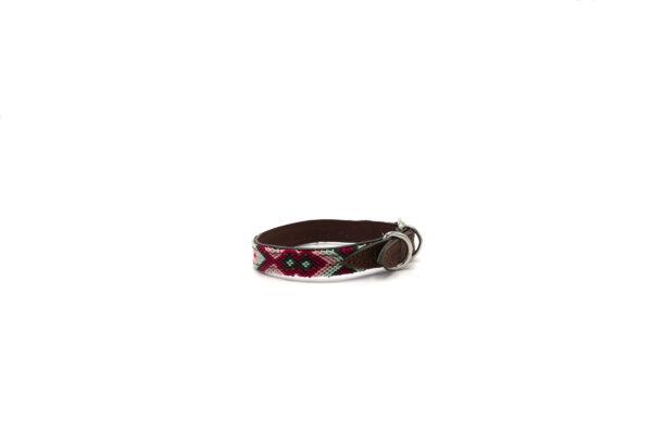 Roze puppy halsband