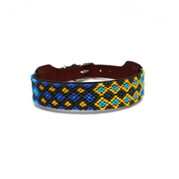 Hondenhalsband blauw M