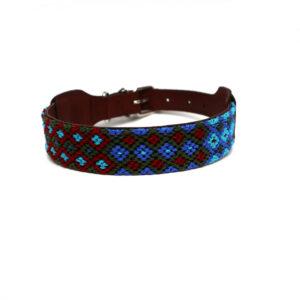 Hondenhalsband blauw