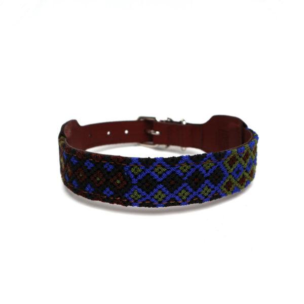 Halsband donkerblauw