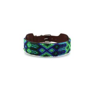 Halsband groen