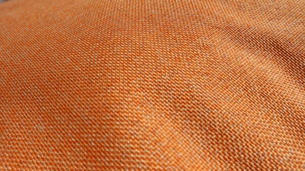 Oranje hondenkussen
