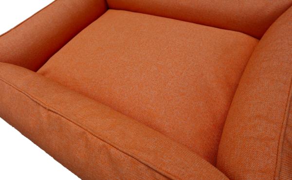 Oranje hondenmand